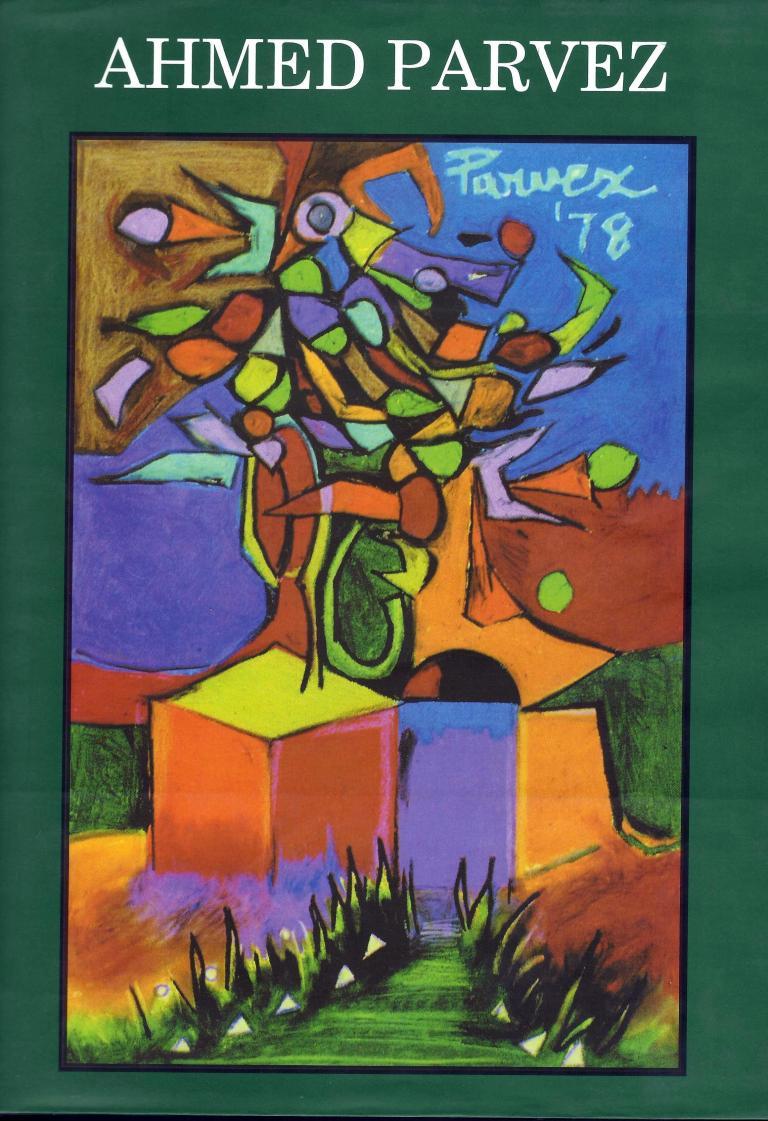 AHMED PARVEZ by Marjorie Husain. Order a copy email info@unicorngalleryblog.com