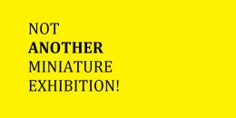 NOT ANOTHER MINIATURE EXHIBITION! 24 April – 05 May 2014