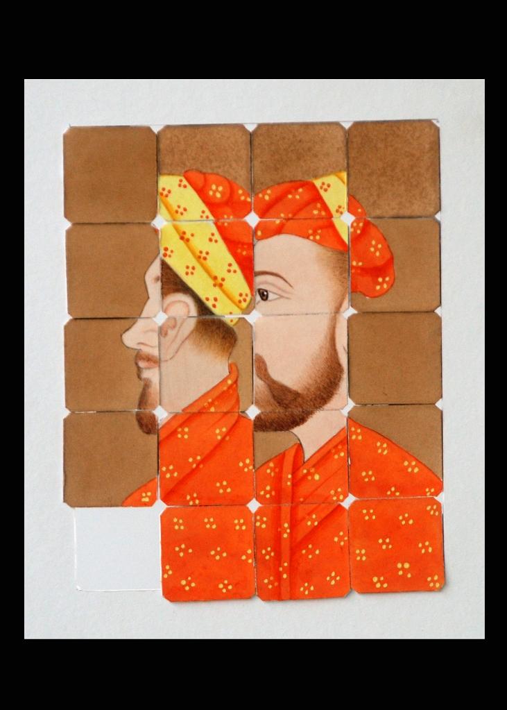 Amjad Ali Talpur-Gouache on Wasli on Cardboard.5x6
