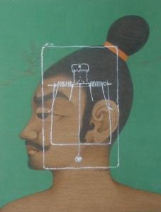 Asif Ahmed Gouache on wasli 9x12