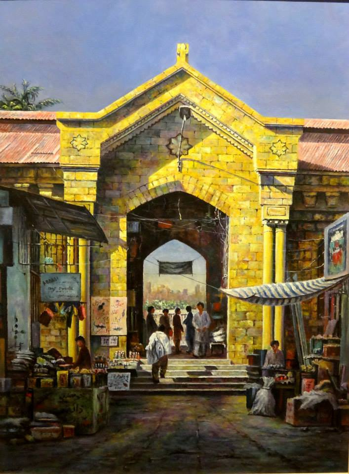 hanif shahzad painting