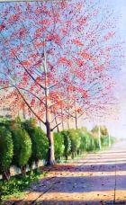 Artist: Ghulam Mustafa Medium: Oil on canvas Size: 22 by 34 Contact: 0092-300-8260580 unicorngallery@gmail.com