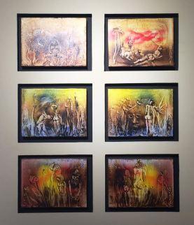 Artist: Tassaduq Sohail Medium: Oil on canvas Title: 6 stories Contact: 0092-300-8260580 unicorngallery@gmail.com
