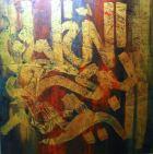 Artist: Saba Shahid Medium: Oil on canvas Size: 36 by 38 Contact: 0092-300-8260580 unicorngallery@gmail.com