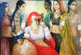 Artist: Moazzam Ali Medium: Oil on canvas Size: 4 by 6 feet Contact: 0092-300-8260580 unicorngallery@gmail.com