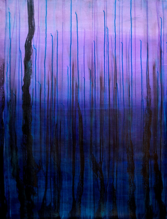 'Horizon' 36 by 48 inches, oil on canvas